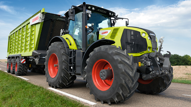 КОНКОРД CLAAS AXION